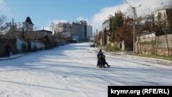 Спуск Котовского, Севастополь, 5 декабря 2016 год