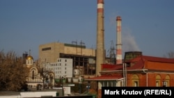 Завод в Донецке. 6 марта 2014 года.