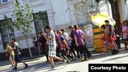 Самара. Марш оппозиции. Фото Сергея Хазова
