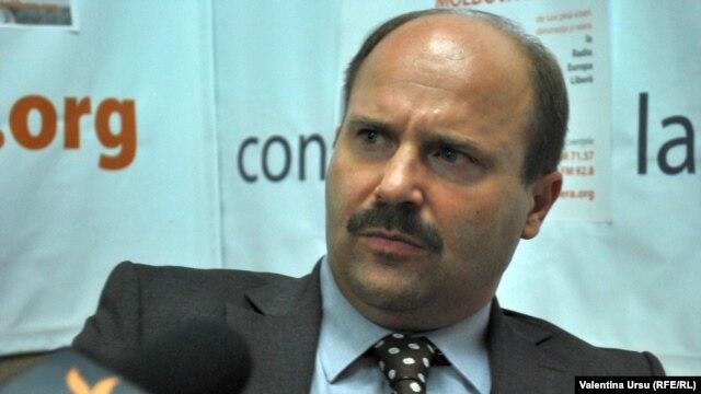 Vicepremierul Valeriu Lazăr în studioul Europei Libere de la Chișinău