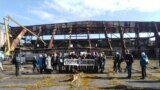 Акция по спасению ангаров аэродрома Нойтиф