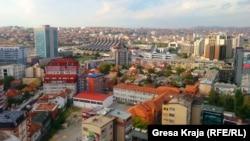 Kosovo - Prishtina view, Pristina generic, illustration, September 28, 2013.