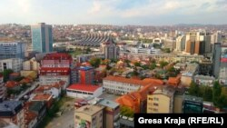 Kosovo - Prishtina view, Pristina generic, illustration, September 28, 2013.