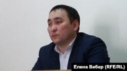 Сержан Сергазин, главный специалист юридического отдела ДВД Карагандинской области.