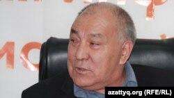 Лидер Коммунистической партии Казахстана Газиз Алдамжаров. Алматинское бюро Радио Азаттык, 13 октября 2011 года.