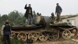 مقاتلون في الجيش السوري الحر
