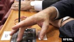 Glasanje u Hrvatskom saboru, ilustrativna fotografija: zoomzg