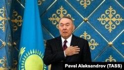 Былы прэзыдэнт Казахстану Нурсултан Назарбаеў падчас інаўгурацыі новага прэзыдэнта