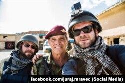 Словацький фоторепортер Юрай Мравец в Іраку