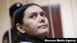 Гюльчехра Бобокулова під час засідання Пресненського суду у Москві. 2 березня 2016 року