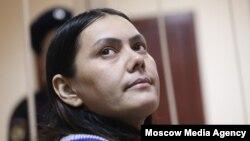 Гюльчехра Бобокулова в зале суда