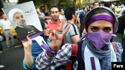 حسن روحانی در انتخابات ریاستجمهوری سال گذشته با اکثریت آرا بر رقبای اصولگرای خود پیروز شد