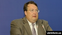 Украина ішкі істер министрінің кеңесшісі Антон Геращенко.