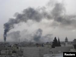 Nasilje u gradu Homs, februar 2012.