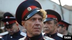 """Казаки блокируют """"Винзавод"""" в Москве"""