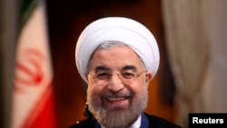 September 24: Iranian President Hassan Rohani attends the 68th session of the General Assembly in New York.