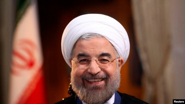 Iran's President Hasan Rohani has turned a more conciliatory face toward the West.