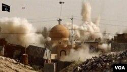 «Իսլամական պետության» զինյալները մզկիթ են պայթեցնում Իրաքի տարածքում