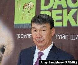 Садык Даулетов, руководитель фермерского хозяйства. Алматы, 8 июня 2015 года.