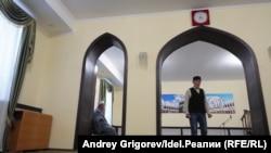 В мечети «Миргазиян».