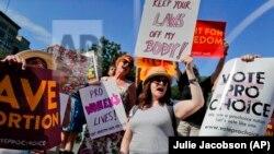 Protest žena za pravo samoodlučivanja o abortusu, Njujork