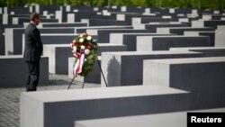 Холокост курмандыктарына арналган мемориал. Германия