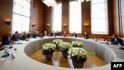 Իրանի միջուկային ծրագրին նվիրված բանակցությունները Ժնևում, 7-ը նոյեմբերի, 2013թ․
