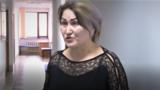 Кунсулу Боримбекова, восстановленная после увольнения учительница средней школы № 42 города Тараза. Жамбылская область, 24 февраля 2020 года.
