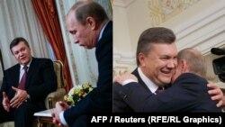 Президенты Украины и России – Виктор Янукович и Владимир Путин