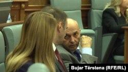 Premijer Kosova Isa Mustafa u Skupštini Kosova