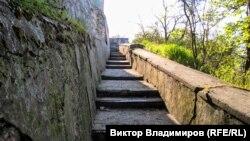 «Лестница любви», Симферополь, архивное фото