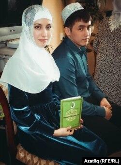 Руфат Калиев һәм Динара Назыйрова никахтан соң