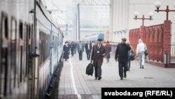 Чыгуначны вакзал «Менск-Пасажырскі», ілюстрацыйнае фота