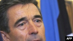 "NATO Secretary-General Anders Fogh Rasmussen: ""this is my point of departure -- I do not consider Russia a threat to NATO."""
