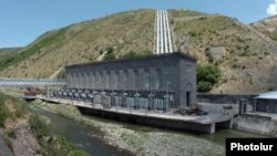 Armenia - A hydroelectric plant on the Hrazdan river, 21Jun2006.