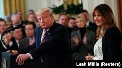 Američki predsjednik u obraćanju u Bijeloj kući