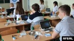 Опорная школа в Донецкой области, Україна