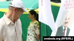 Belarus - Collection of signatures in Brest, presidential election, 23Jul2015
