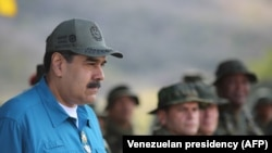 Venezuelan President Nicolas Maduro (file photo)