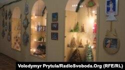 Різдвяна виставка в етнографічному музеї