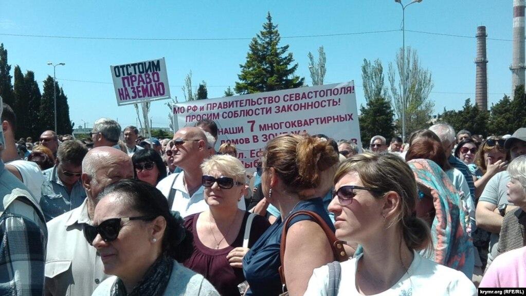 Из жизни баранов: В Севастополе массово протестуют против проекта генплана и пишут слёзные петиции путину