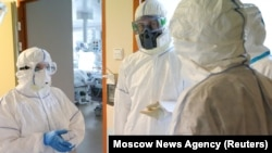 Lomonosov Universiteti Klinikasının intensiv terapeya şöbəsi