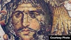Готский вождь. Фрагмент мозаики из Большого дворца в Константинополе