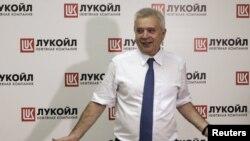 """""""ЛУКОЙЛ"""" нефть компанияси президенти Вагит Алекперов."""