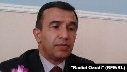 Абдулло Табаров, ректори Донишгоҳи давлатии Кӯлоб.