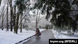 Погода в Симферополе. 22 марта 2018 года