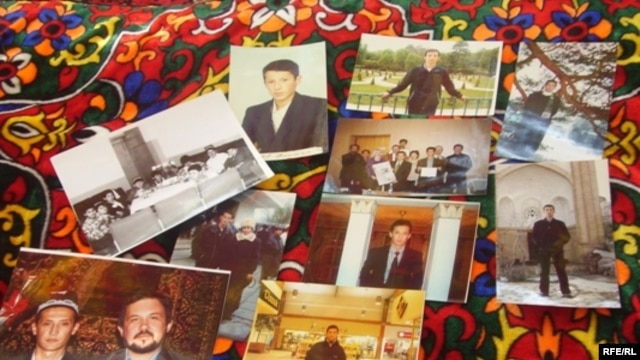 Kyrgyzstan - Photos of journalist Alisher Saipov murdered in Osh, 2007. 24Oct2009