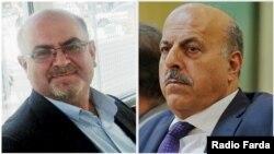 Иранские правозащитники Гасем Шолех-Саади и Араш Кейхосрави