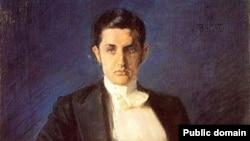 Портрет Д. Философова кисти Л. Бакста