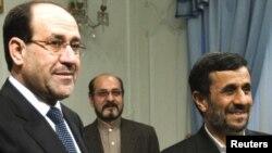 الرئيس الايراني يستقبل المالكي